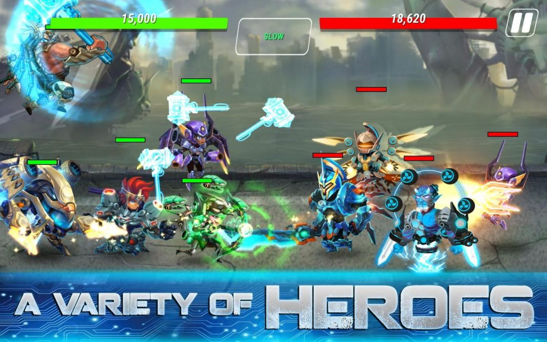 Heroes Infinity 1.17.16 Mod APK - Unlimited Money & Gems