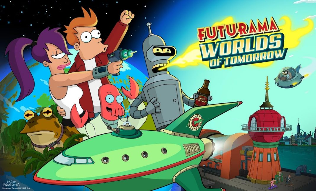 Futurama Worlds of Tomorrow Mod APK